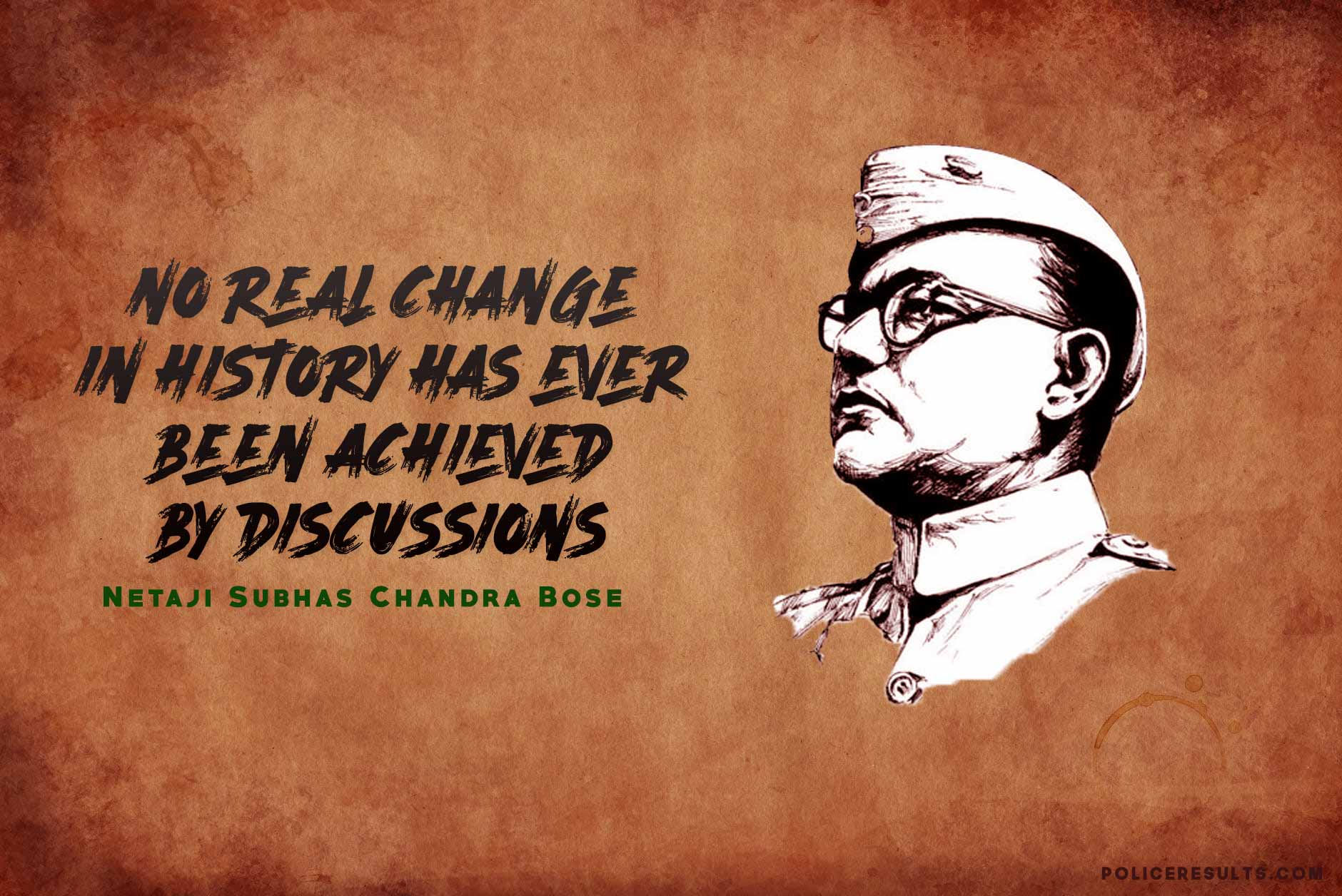 Netaji Subhas Chandra Bose : Inspirational Quotes, Slogans, famous thoughts of the leader