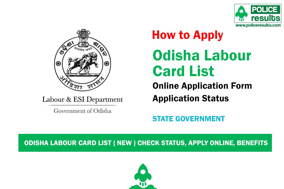 (Download) Odisha Labour Card List 2020: Name Wise Beneficiary Status