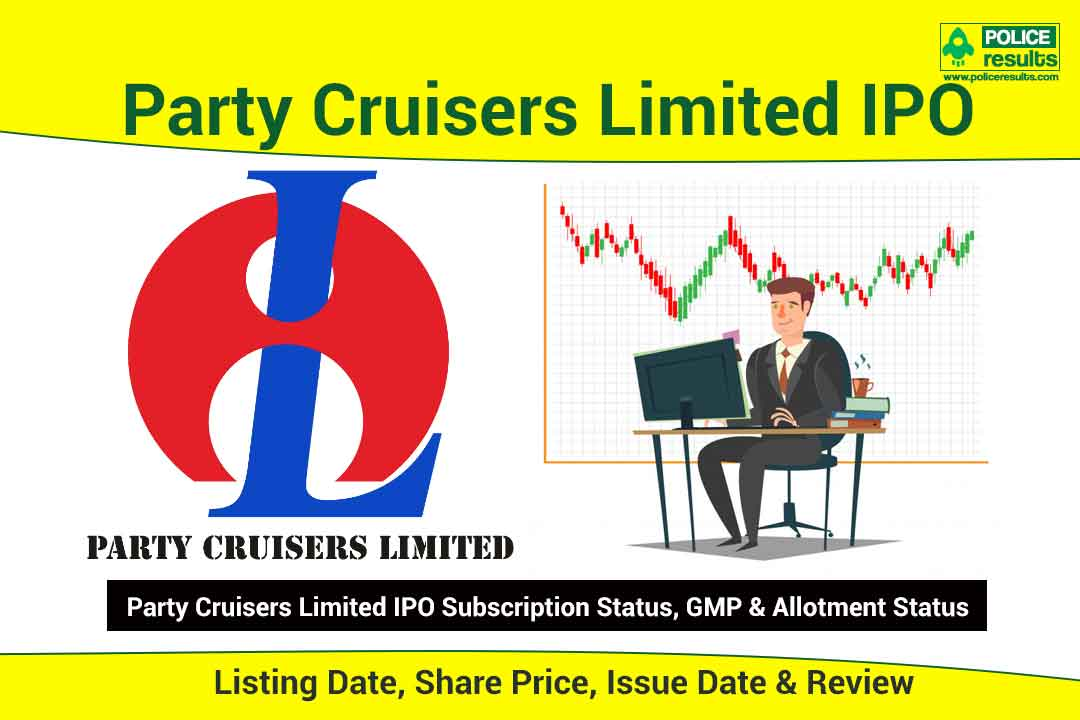 [Live Updates] Party Cruisers IPO: Listing Date, Share Price, Issue Date & Review | Subscription Status, GMP & Allotment Status