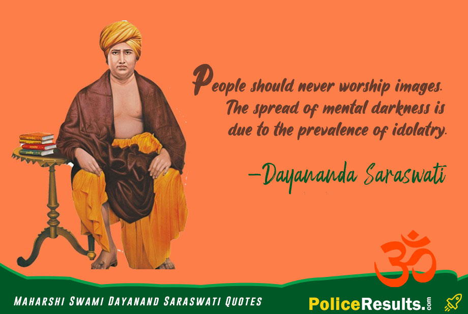 Teachings and Slogans given by Swami Dayananda Saraswati.