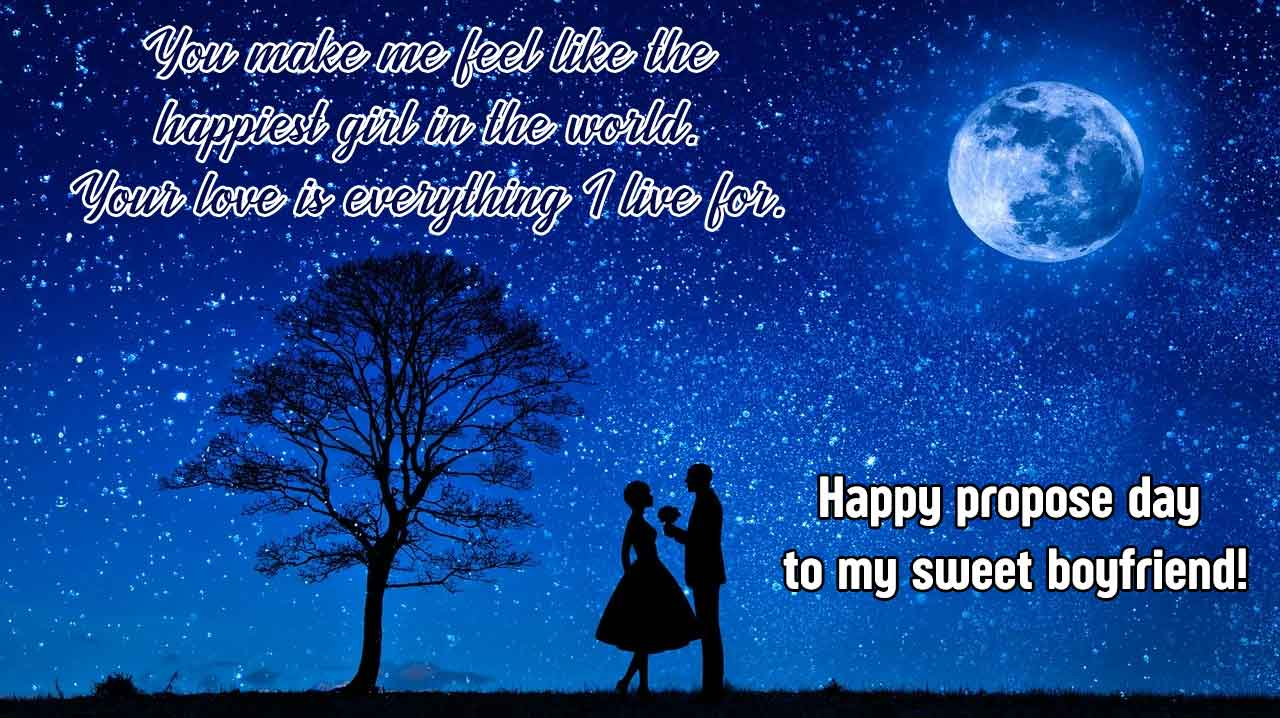Propose Day Wishes Pic Status for Boyfriend/ Girlfriend