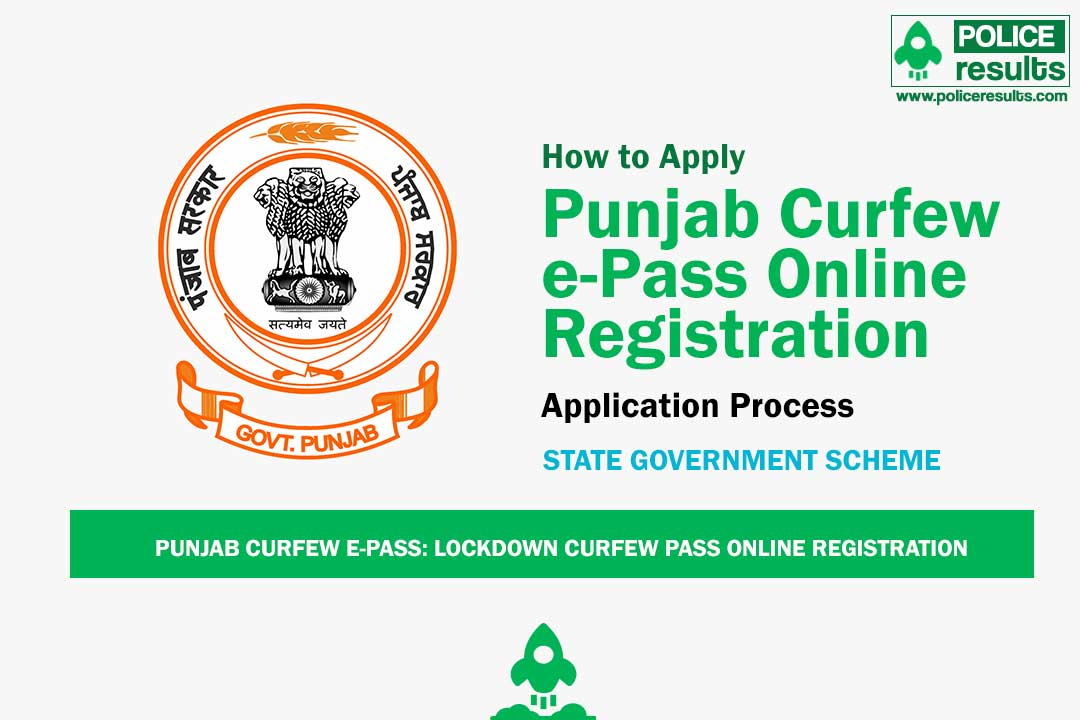 Punjab Curfew e-Pass: Lockdown Curfew Pass Online Registration & Helpline Number