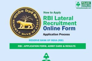 RBI Lateral Recruitment Online Form 2020 – 39 Posts (Last Date: 29 April)