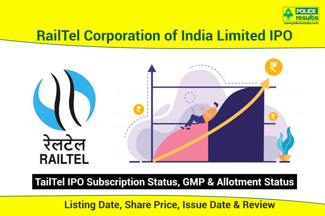 [Live Updates] RailTel IPO: Listing Date, Share Price, Issue Date & Review | Subscription Status, GMP & Allotment Status