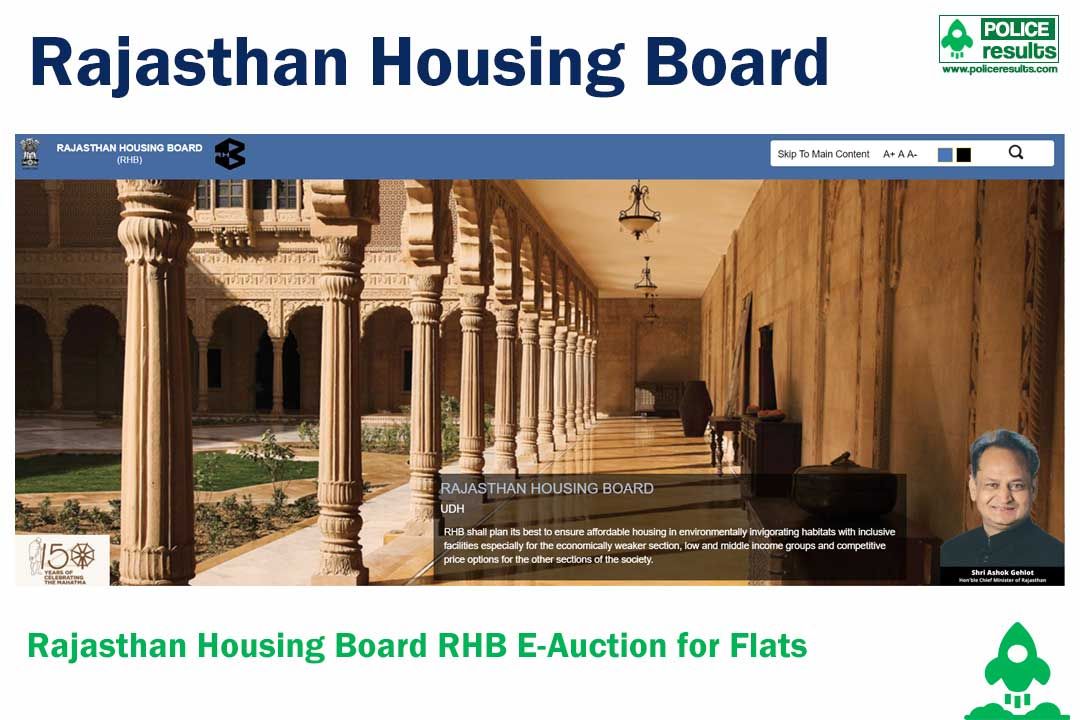 Rajasthan Housing Board RHB E-Auction : Raj Online Flats Auction Online From
