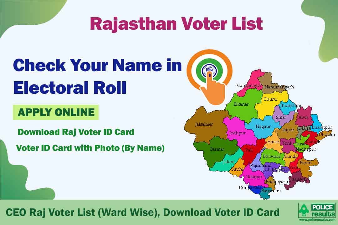Rajasthan Voter List 2020: CEO Raj Voter List (Ward Wise), Download Voter ID Card with Photo (By Name)