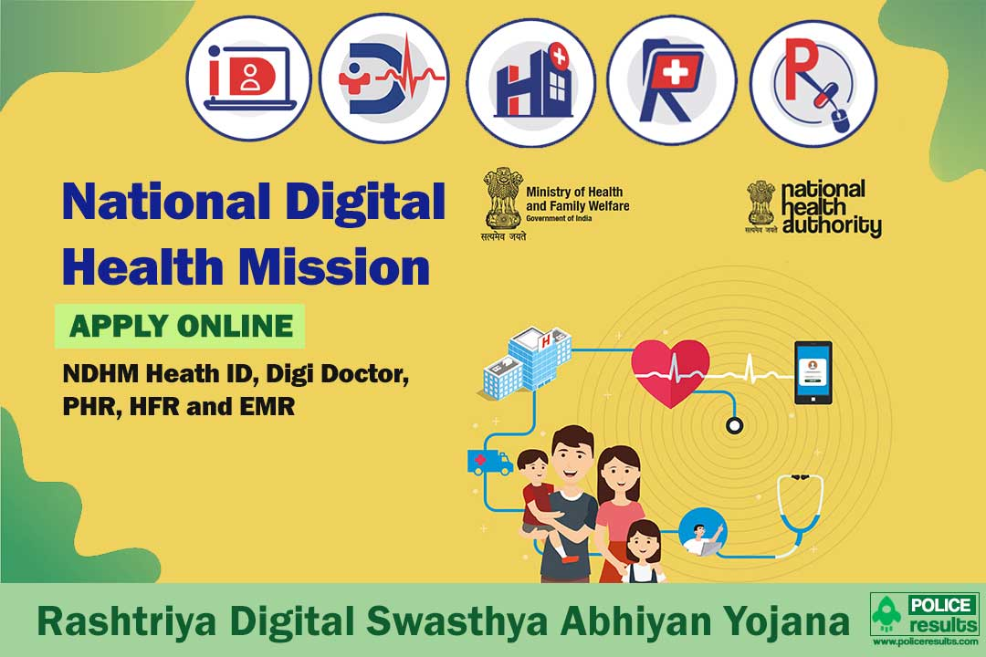 National Digital Health Mission [NDHM] Scheme 2020: Health ID Online Registration, Objectives, Eligibility & Benefits