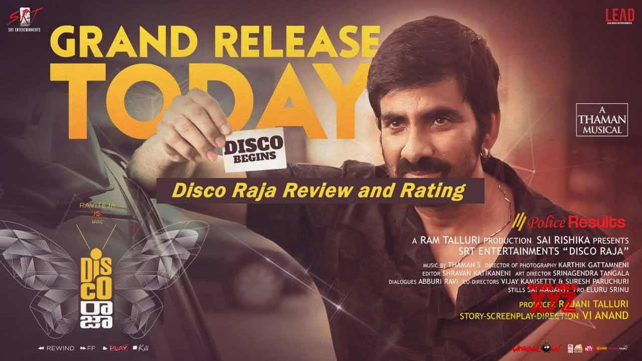 Ravi Teja's - Disco Raja Movie Review & Rating, Twitter Live updates