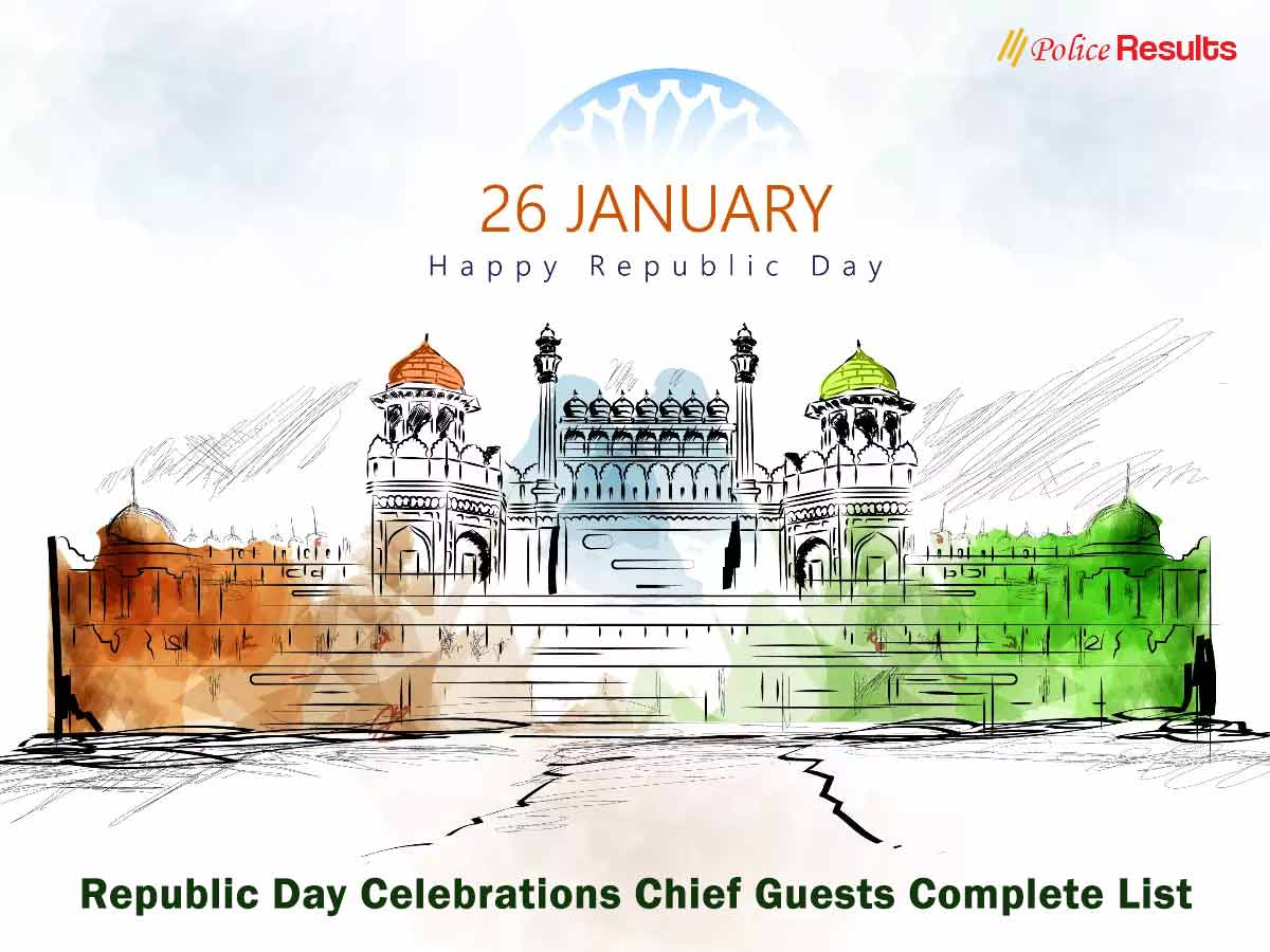Republic Day Celebrations Chief Guests Complete List