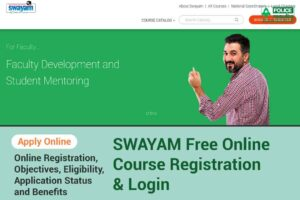 (NPTEL) Swayam Registration: Explore All Online Free Learning Courses, Enrolment Process, Certifications