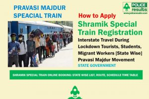Shramik Special Train Online Booking: State Wise List, Route, Schedule Time Table