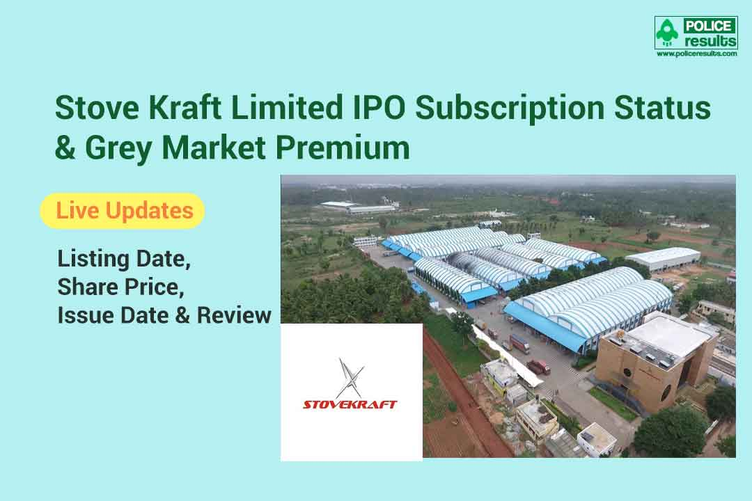 [Live Updates] Stove Kraft Limited IPO Subscription Status & Grey Market Premium: Listing Date, Share Price, Issue Date & Review