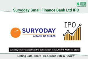[Live Updates] Suryoday Small Finance Bank IPO Subscription Status, GMP & Allotment Status: COMPNAMEENG IPO Listing Date, Share Price, Issue Date & Review