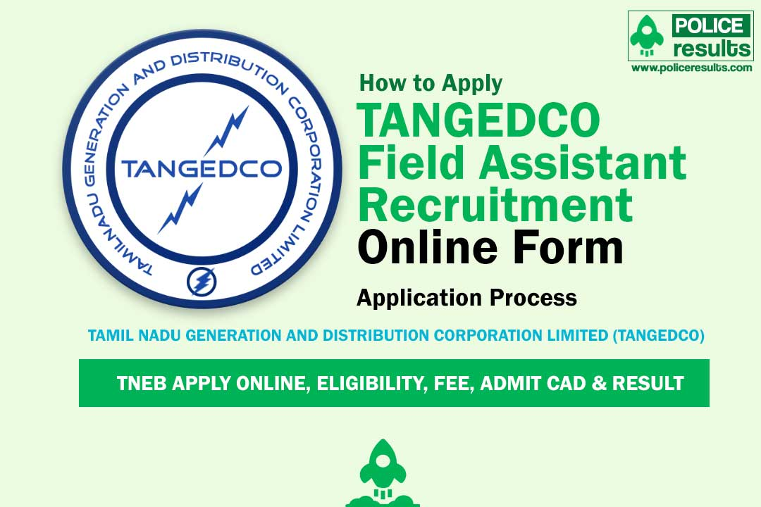 TANGEDCO Field Assistant (Trainee) Online Form 2020 - 2900 Posts (Last Date: 23 April)
