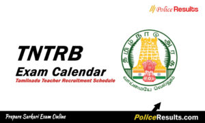 TNTRB Exam Calendar 2020 – TN TRB Tamilnadu Teacher Recruitment Schedule