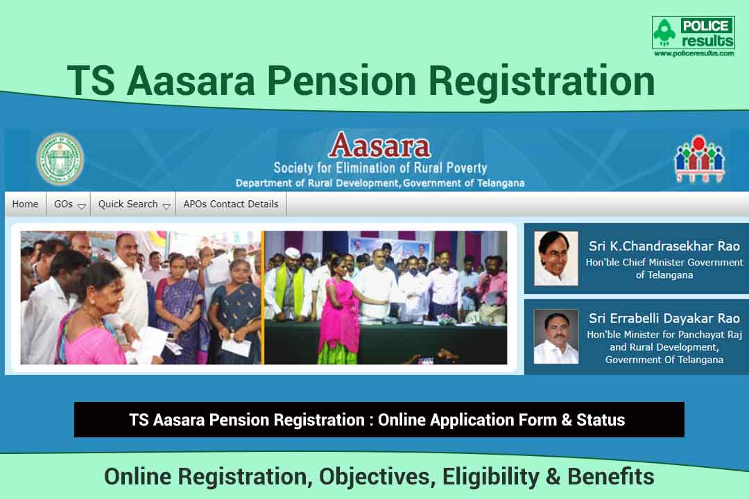 [Apply Online] TS Aasara Pension 2021: Application Form, Eligibility & Status