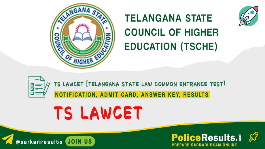 TS LAWCET 2020 Notification, Apply Online, Exam Dates @ lawcet.tsche.ac.in