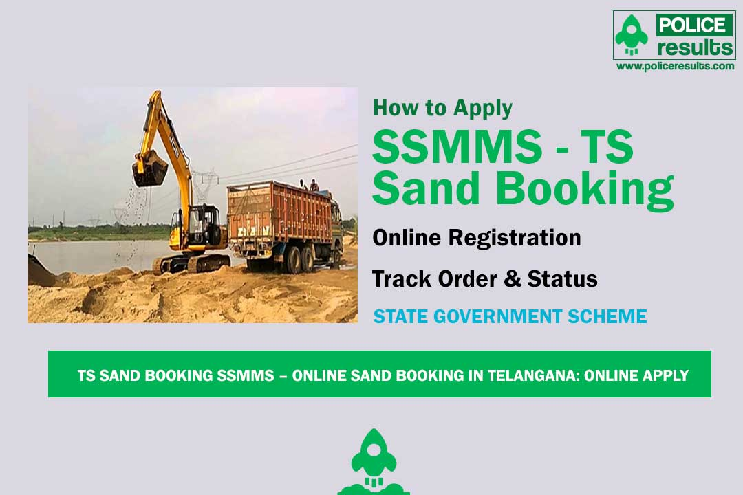 TS Sand Booking SSMMS – Online Sand Booking in Telangana: Online Apply