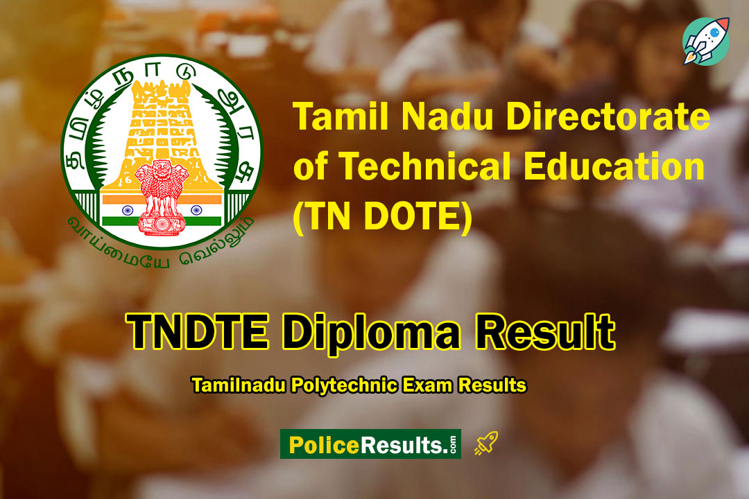 TNDTE Diploma Result 2020 – DOTE Tamilnadu Polytechnic Exam Results OCT 2019 (1st, 2nd, 3rd Year)