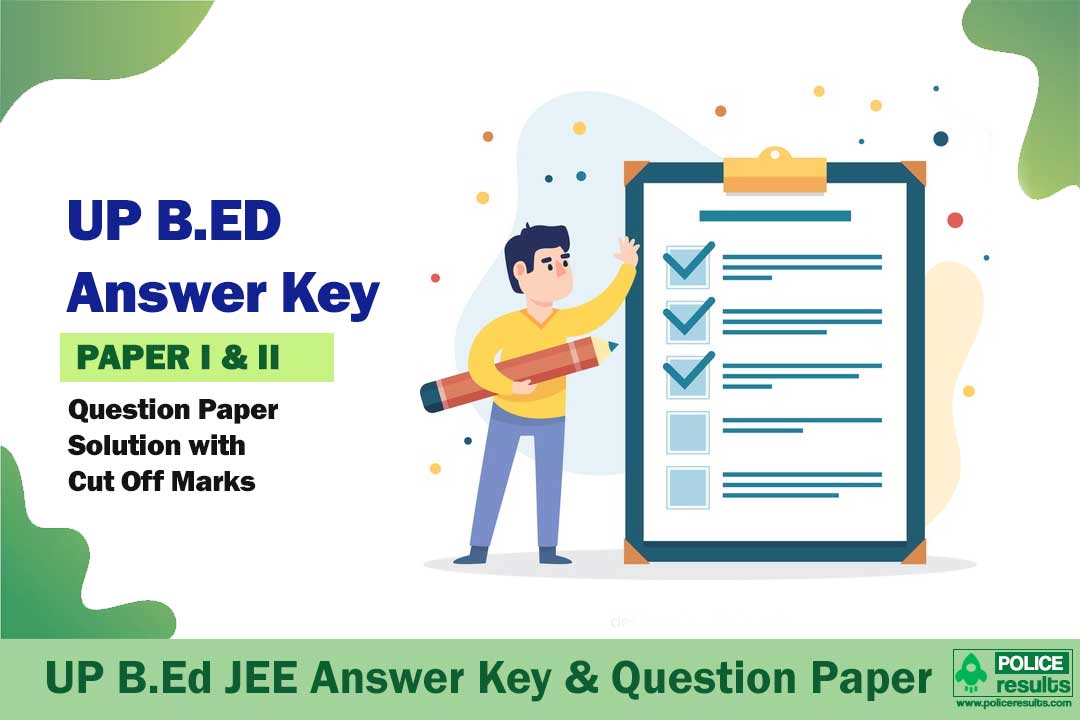 UP B.Ed JEE Answer Key 2020 Joint Entrance Exam Answer Sheet