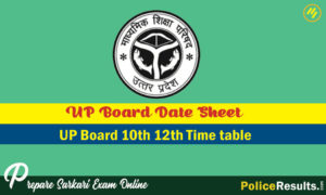 UP Board Time Table 2020 10th & 12th Class – UP Board High School Intermediate Exam Scheme 2020 UP Board Xth XIIth Class Time Table Download in PDF at www.upmsp.edu.in.