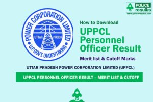UPPCL Personnel Officer Result 2020 – PO Merit List & Cutoff Marks