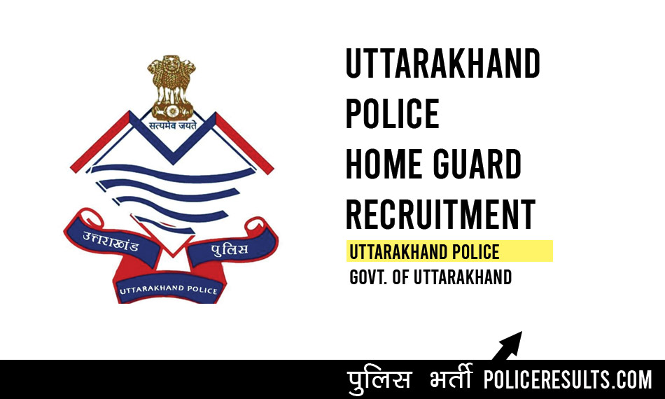 Uttarakhand Police 3590 Home Guard Recruitment 2020 Bharti Online Form