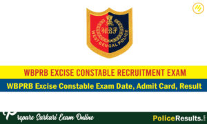 WBPRB Excise Constable Result 2020 – West Bengal Police Excise Constable Results, Cut Off Marks & Merit List 2020