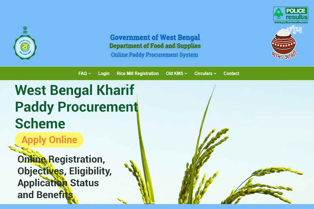 West Bengal Kharif Paddy Procurement Scheme 2020: Online Registration, Objectives, Eligibility & Benefits