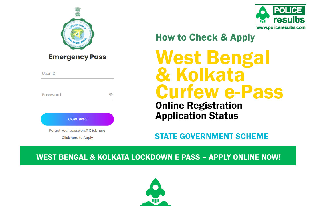 West Bengal & Kolkata Lockdown e Pass – Apply Online Now!