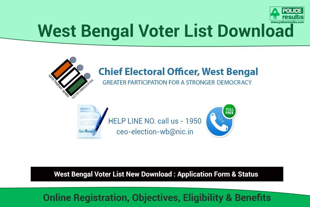 West Bengal Voter List 2021: ceowestbengal.nic.in New Voter List 2021 PDF Download