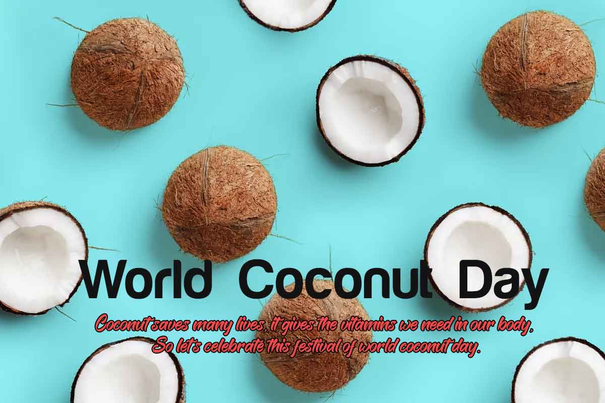 World Coconut Day 2020 Images, Greetings, Wallpapers, Photo, Pictures