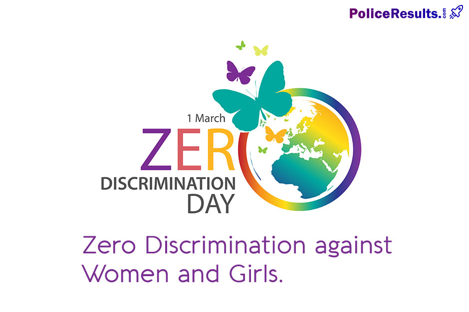 Zero Discrimination against Women and Girls.