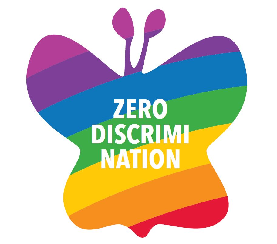 Zero Discrimination Day Symbol