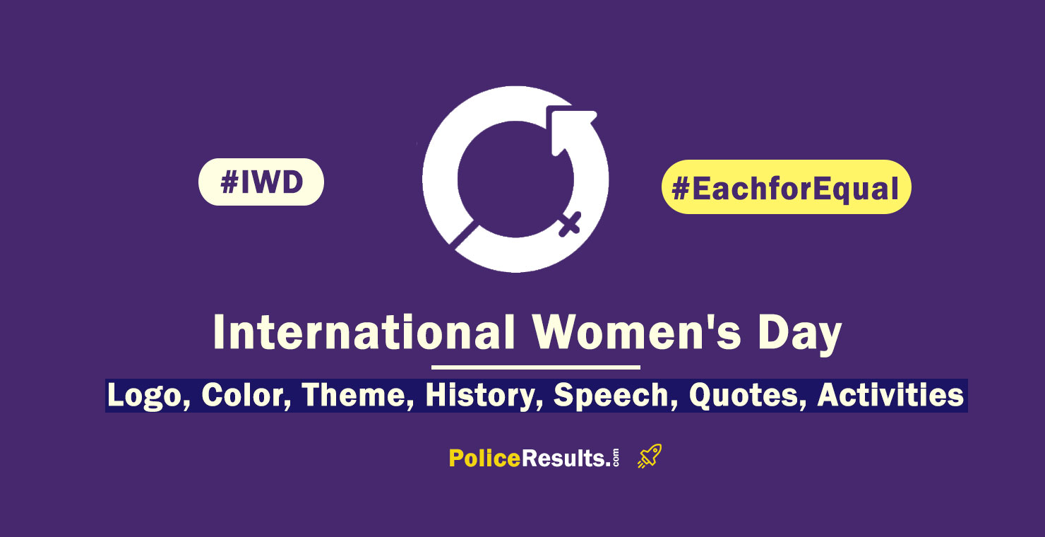 (in Hindi) International Women's Day 2020 : Theme, Quotes, Speech, History, Activities, Poster, Slogan, Logo, Significance, Messages, Symbol and Awareness Program